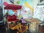 Bike rickshaw at Freespace