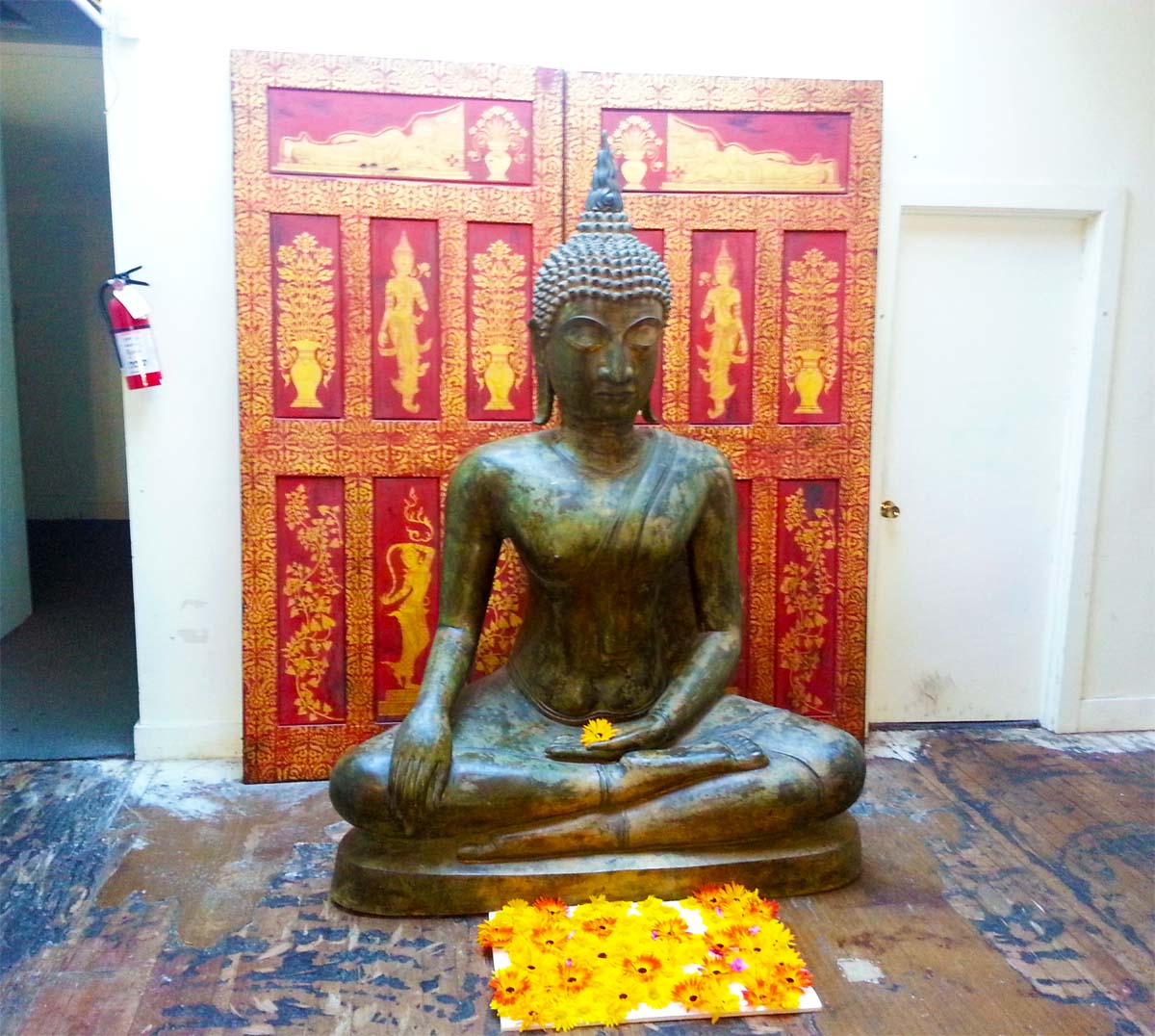 Budda decor