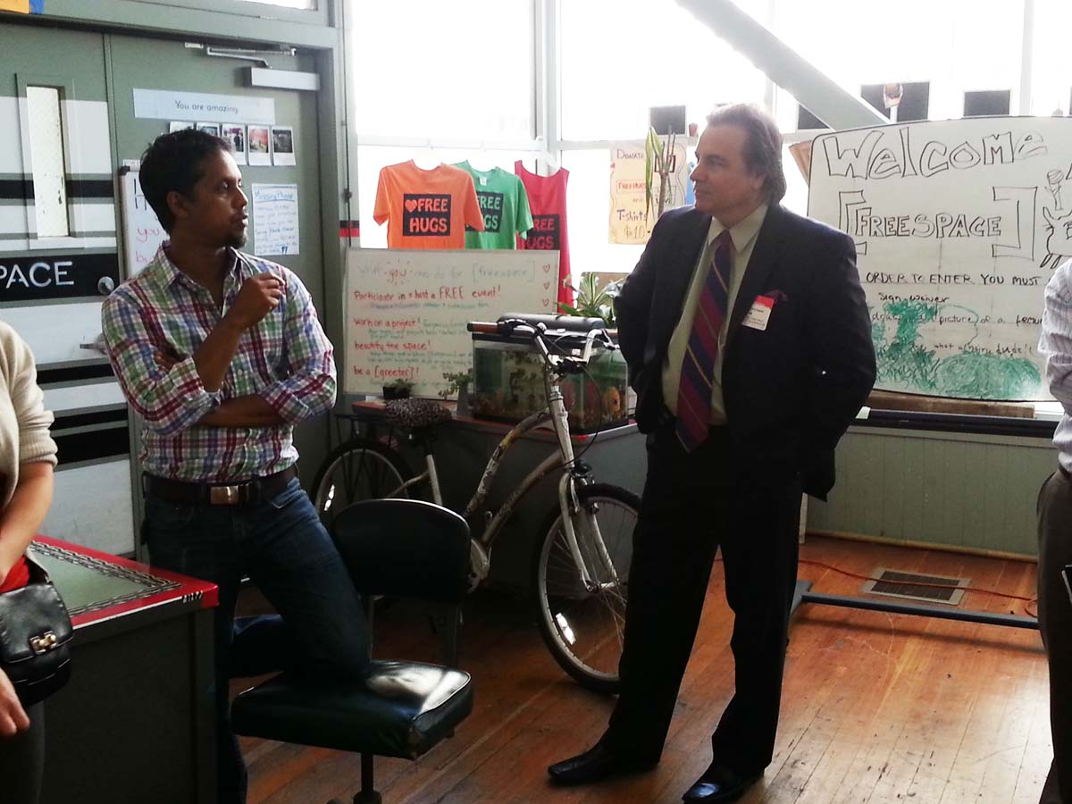 CM Chris Zapata and Freespace Innovator