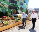 David Holley and James Hanusa - Freespace Garden and Mural