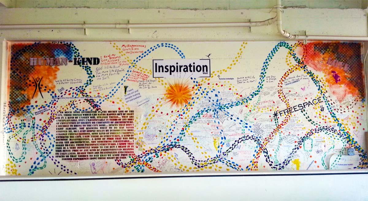 Freespace inspiration wall
