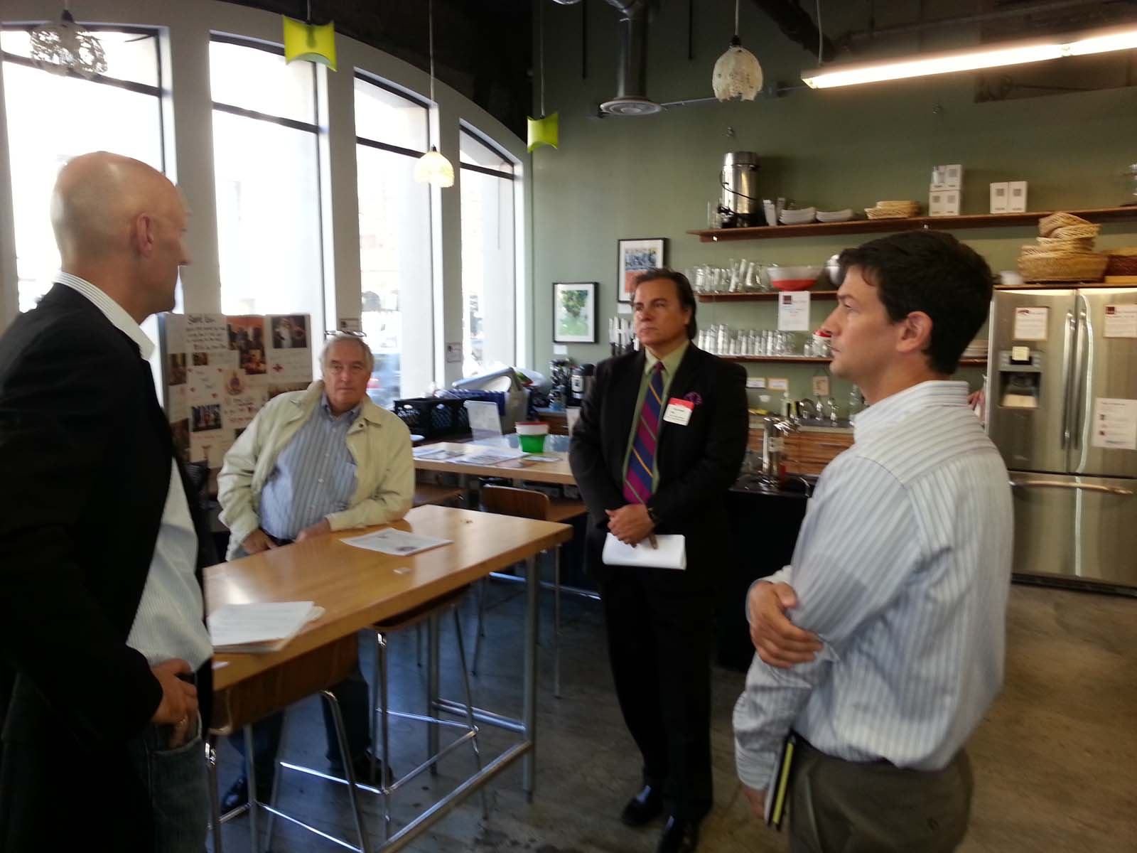 HUB Kitchen - Greg Delaune, David Holley, Chris Zapata, Jeff Kay