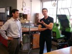 TechShop - Jeff Kay and Epsen Ivertsen