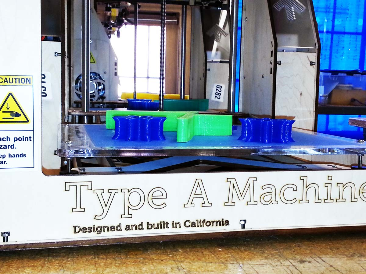 Type A 3D printer - Made in Calif
