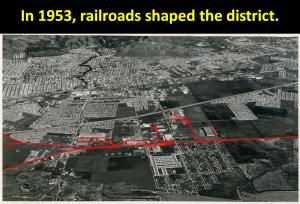 San Leandro Industrial Area 1953