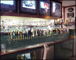 Just a fraction of the beers available on tap at the Englander.