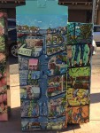 """Maps of San Leandro and Cherries"" by Lia Tin at Downtown Plaza (East 14th & Estudillo Ave)"
