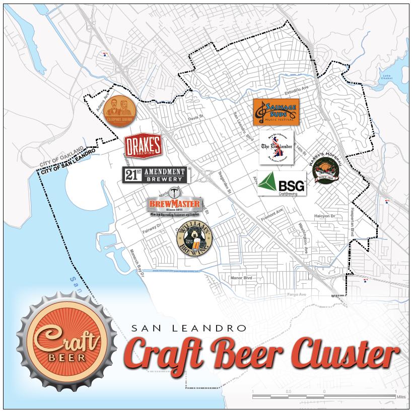 Beer Cluster Map