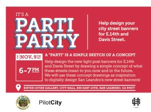 Parti Party Postcard
