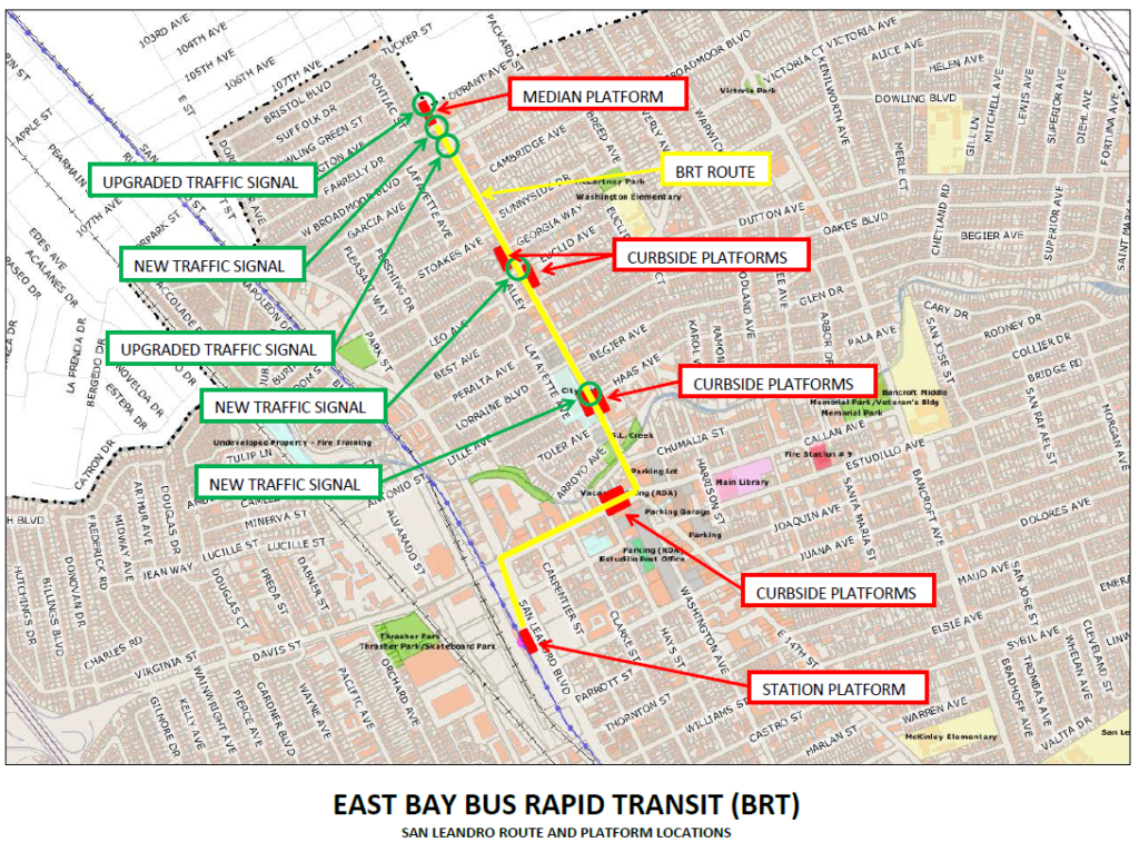 BRT Route Map