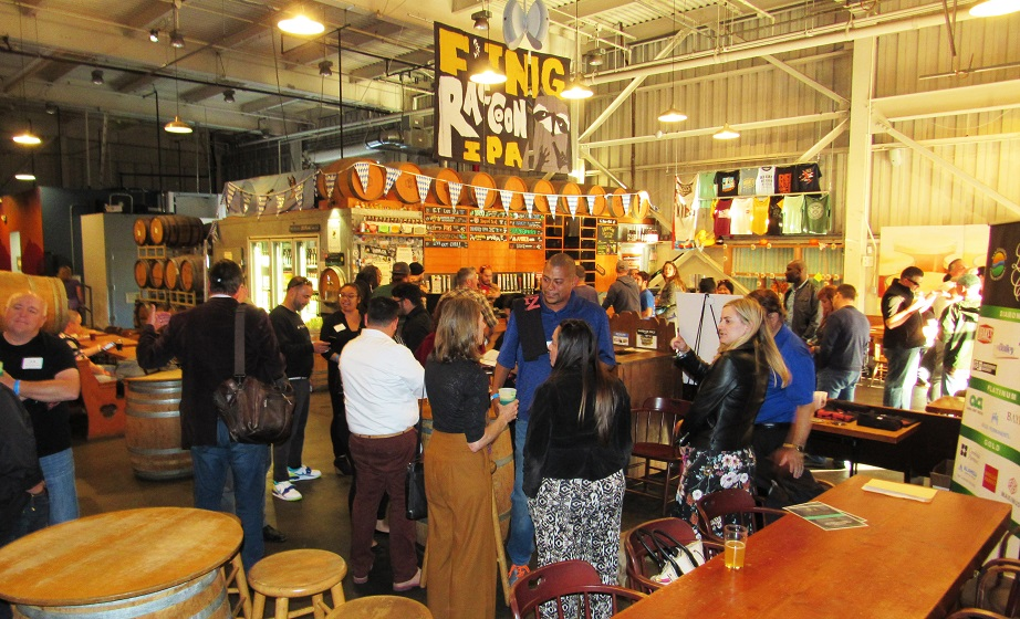 Picture of Manufacturers Networking at Drake's Brewery